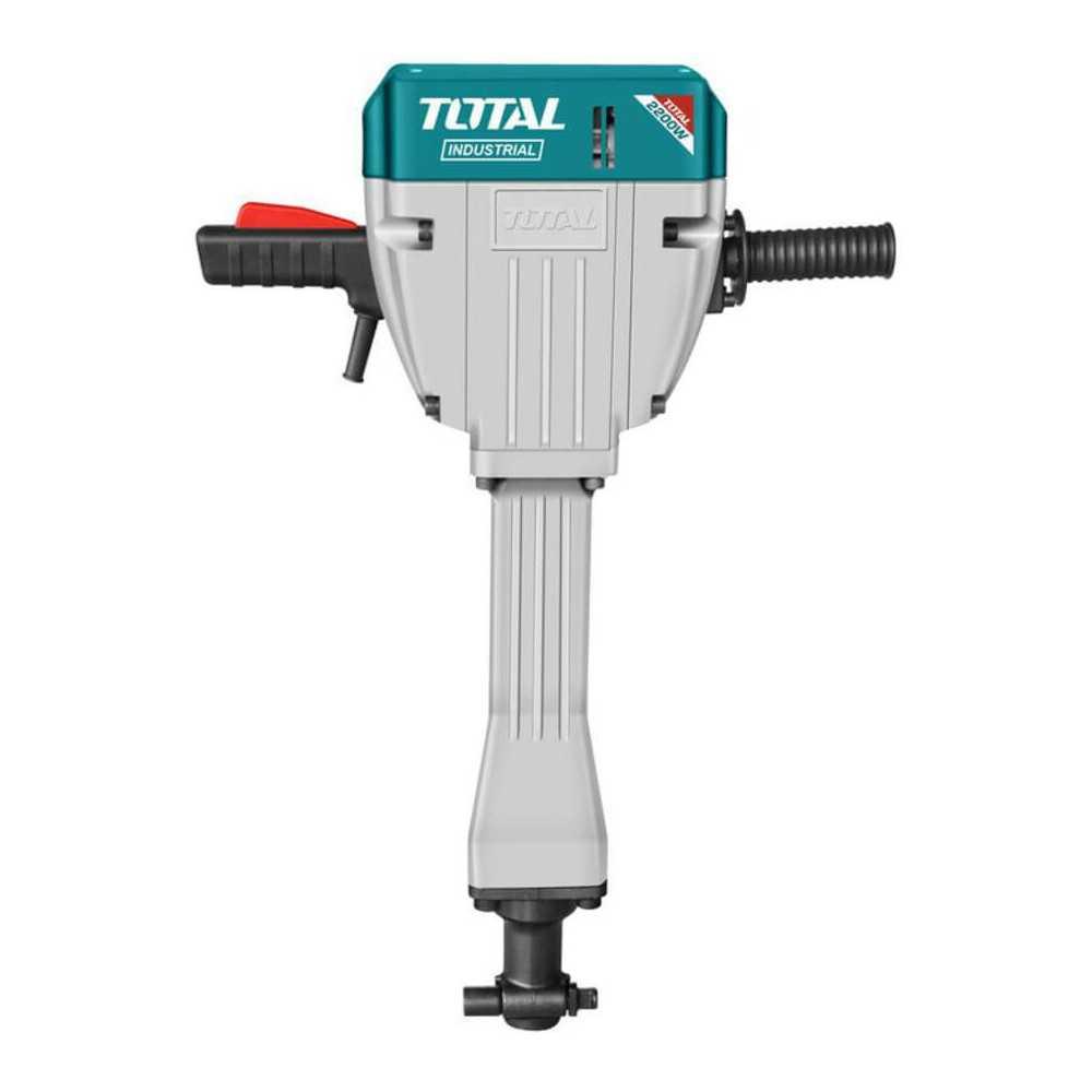 Demoledor Industrial SDS-HEX 2200W 75J+ 2 Cinceles Total Tools TH220502