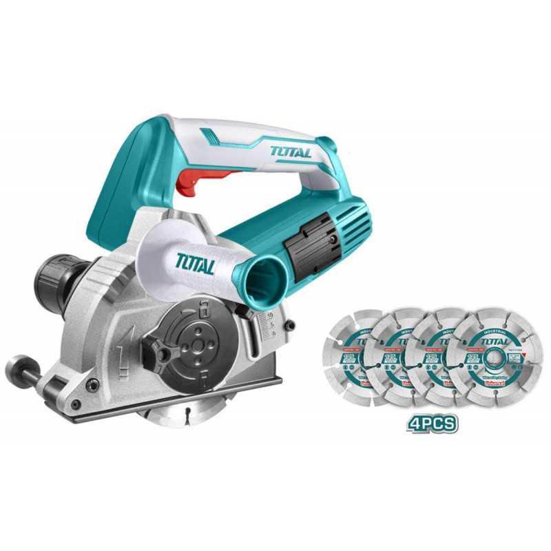 Cortadora de Concreto Industrial 1500W Total Tools TWLC1256