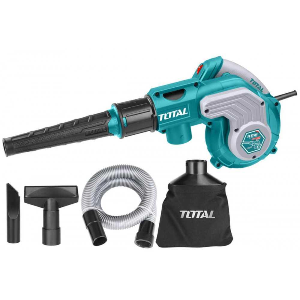 Soplador-Aspirador 800W con Bolsa Total Tools TB2086