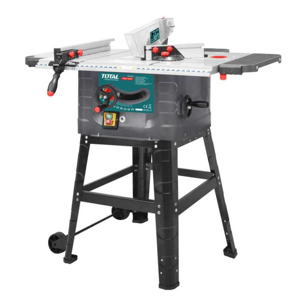 "Sierra de Banco Industrial 1500W 10"" Total Tools TS5152542"