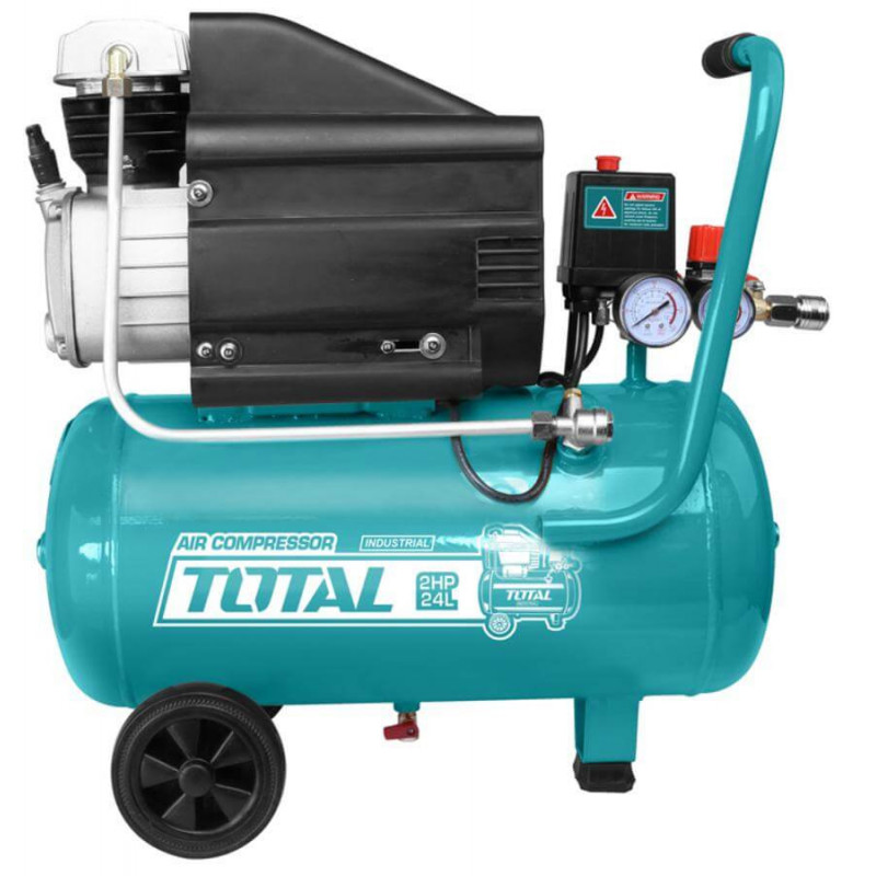 Compresor de Aire 2HP 24L Total Tools TC120246