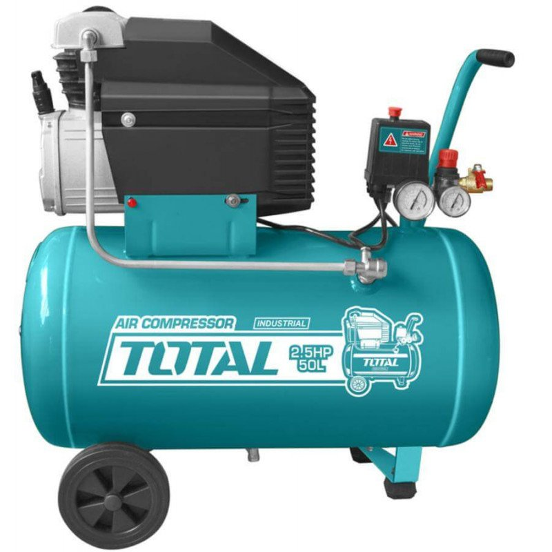 Compresor de Aire 2.5HP 50L Total Tools TC125506