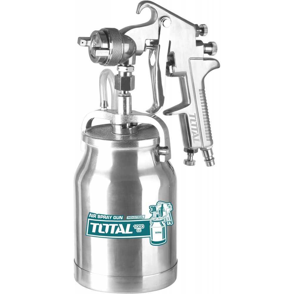Pistola para Pintar 1000CC Boquilla 1.8MM Total Tools TAT11002