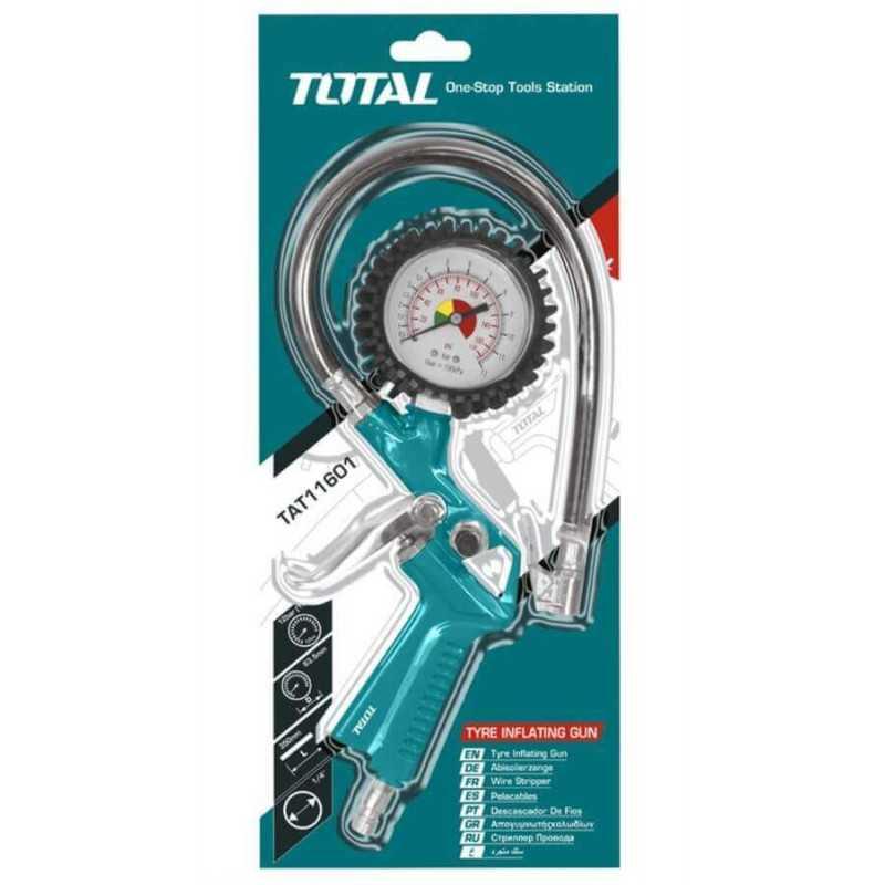 Pistola Infladora de Neumáticos 12BAR Total Tools TAT11601