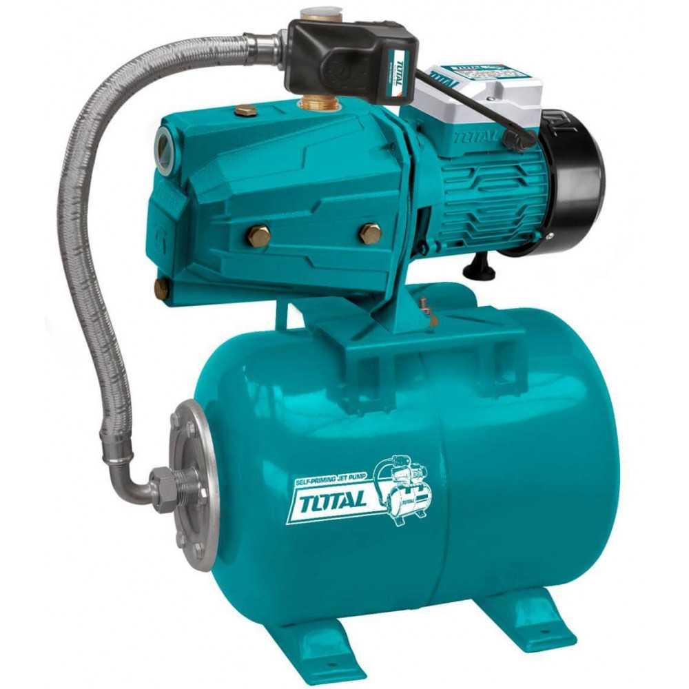 "Bomba de Agua de Inyección Automatica Autocebante Para Agua Limpia 1""x1"" 1HP Total Tools TWP47506"