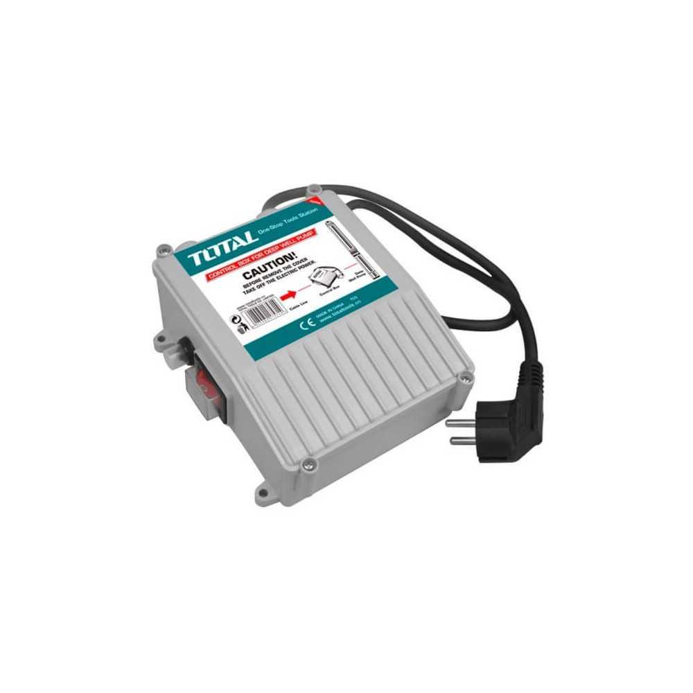 Control para Bomba de Agua Profundidad 6 Ah Total Tools TWP53701-SB