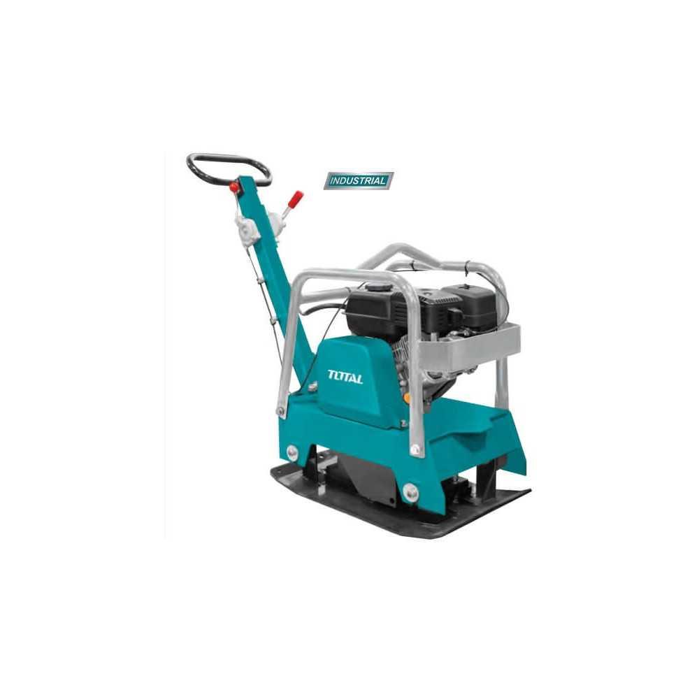 Placa Compactadora a Gasolina 6.5HP 25KN Total Tools TP7125-2