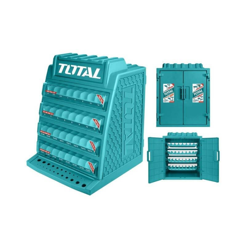 Mueble Dispensador de Brocas para 260 Unidades Total Tools TAKD2608M-1