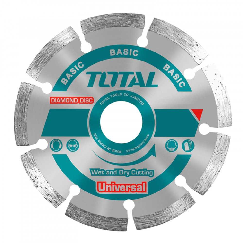 """Disco Diamantado en Seco 5"""" 7.5MM Total Tools TAC2111253"""