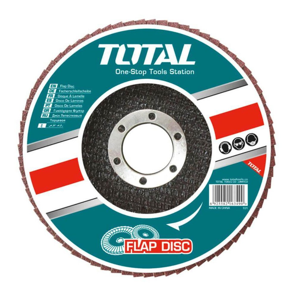 "Disco Flap 4-1/2"" Grano 60 Total Tools TAC631152"