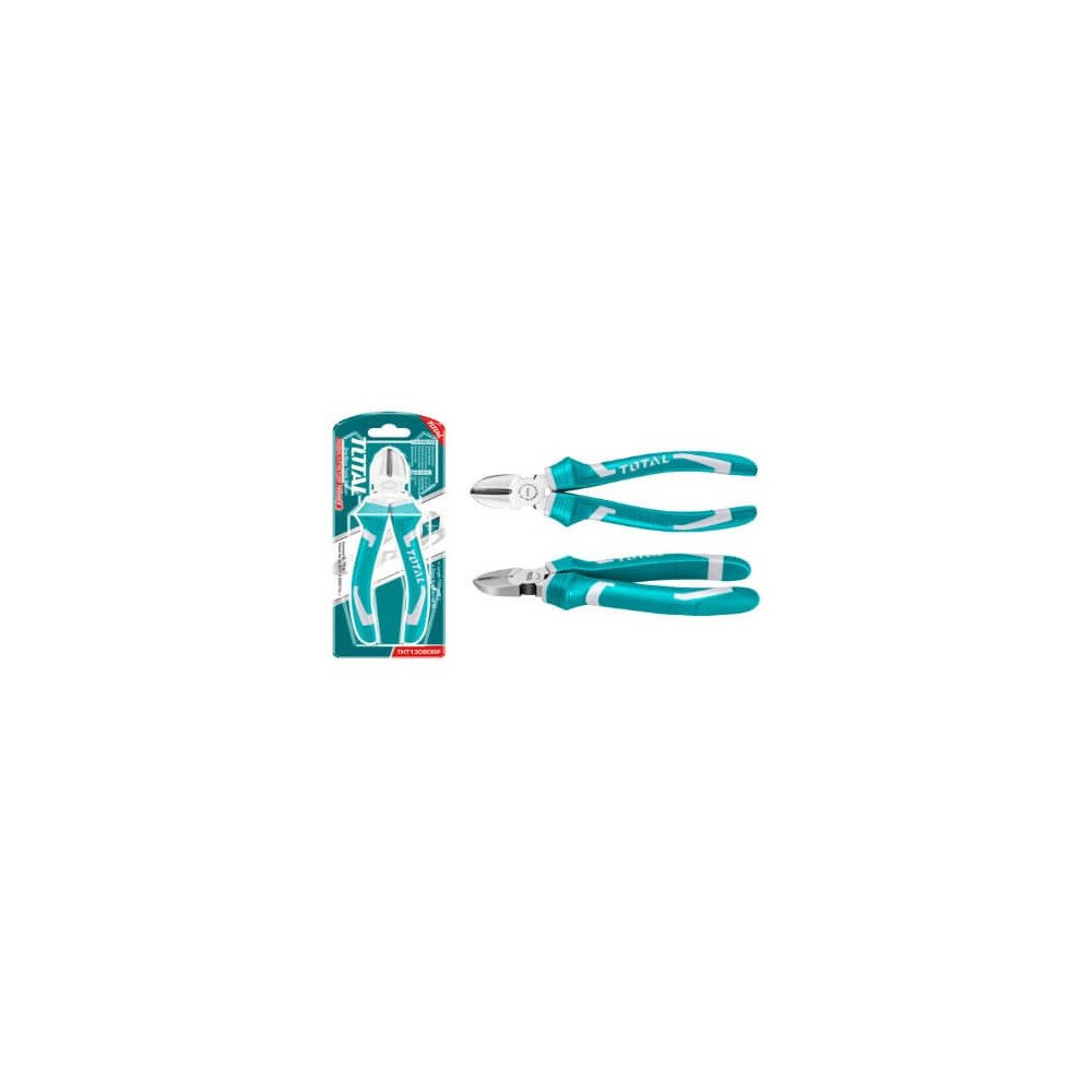 "Alicate de Corte Diagonal 6"" Total Tools THT130606P"
