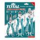 Set de Alicates 3 Unidades Industrial Total Tools THT2K0301S