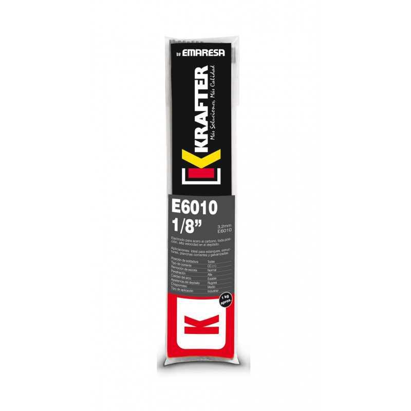 """Electrodo 1/8"""" (3.2mm) 1Kg E 6010 Krafter 4420000060103"""