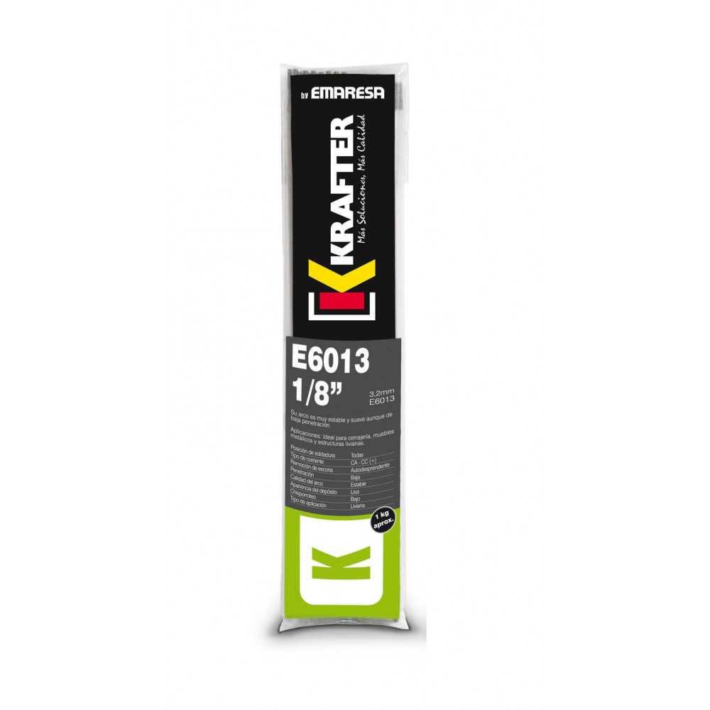 """Electrodo 1/8"""" (3.2mm) 1Kg E 6013 Krafter 4420000060133"""