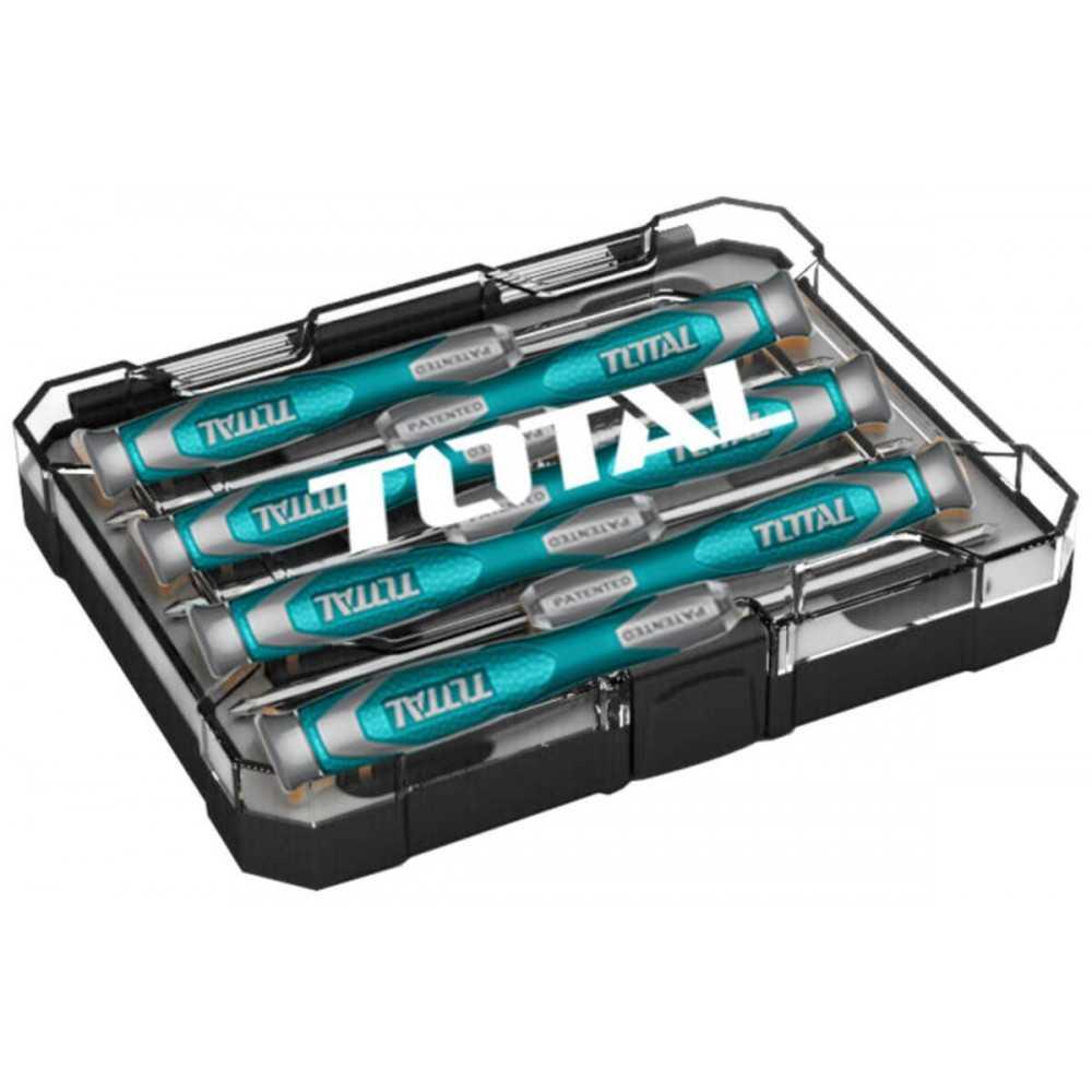 Juego de Destornilladores 7 Piezas Total Tools THT250726