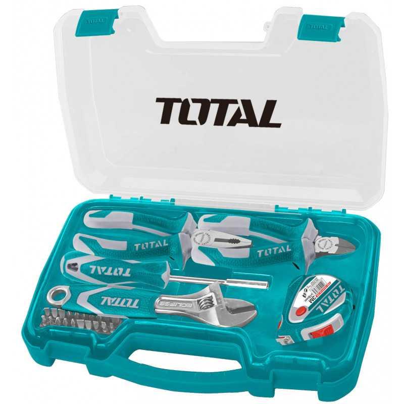 Caja de herramientas 25 Piezas Total Tools THKTHP90256