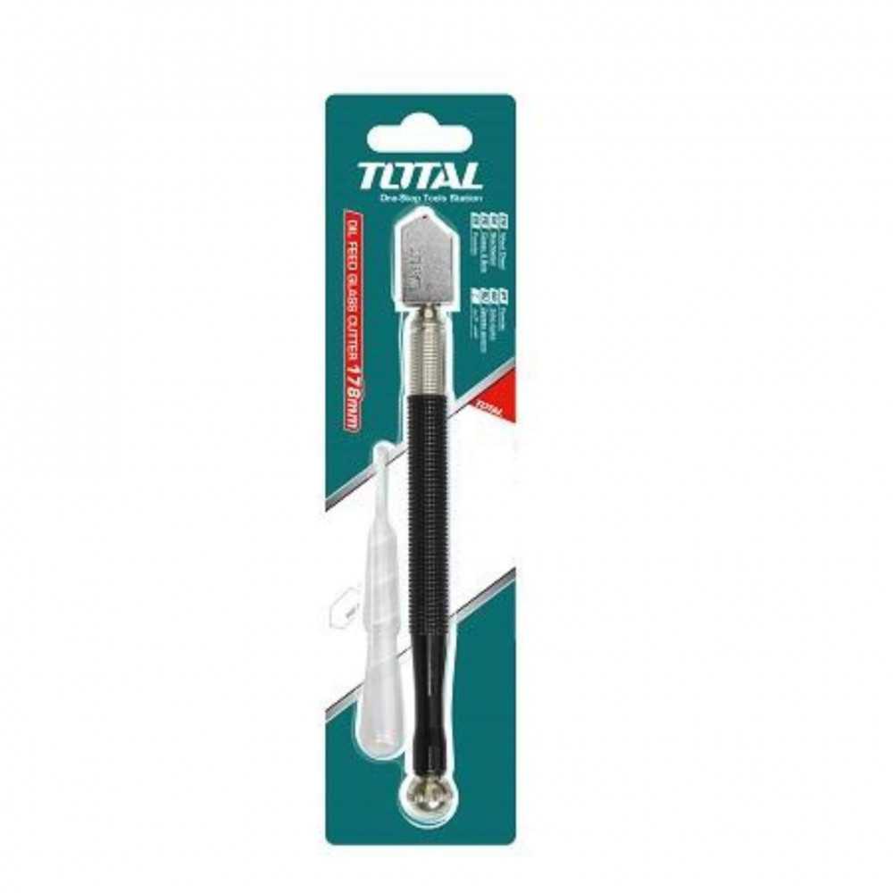Cortador de Vidrio Con Lubricación 178mm Total Tools THT561781