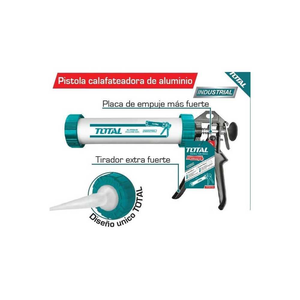 "Pistola Calafatera 9"" Aluminio Total Tools THT20109"