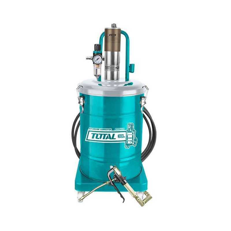 Tambor Lubricador de Grasa de Aire 30 Litros Total Tools THT118302