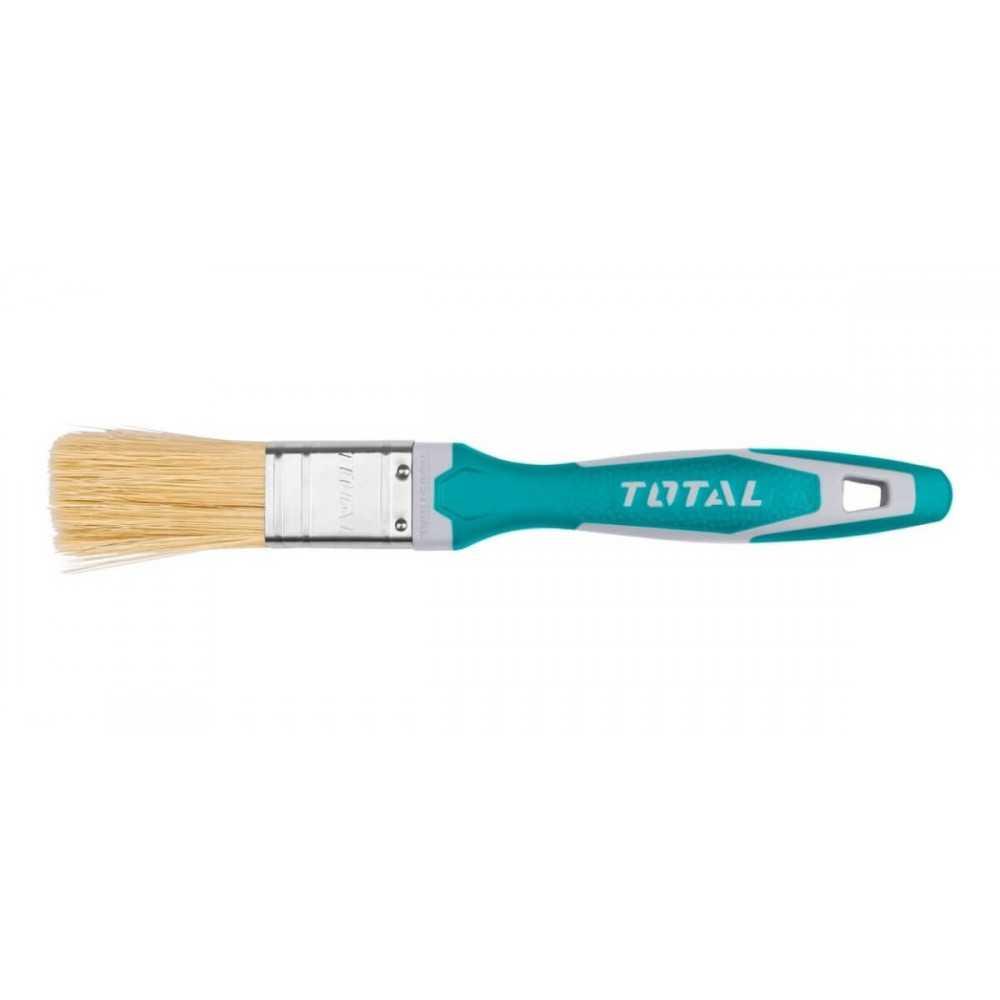 """Brocha 1"""" Mango de Plástico Recubierto Total Tools THT84016"""