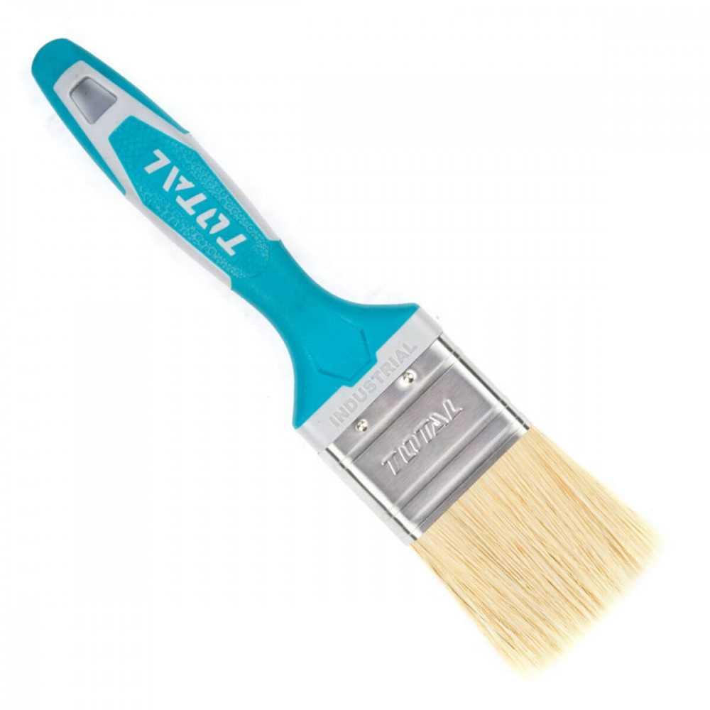 "Brocha 3"" Mango de Plastico Recubierto Total Tools THT84036"