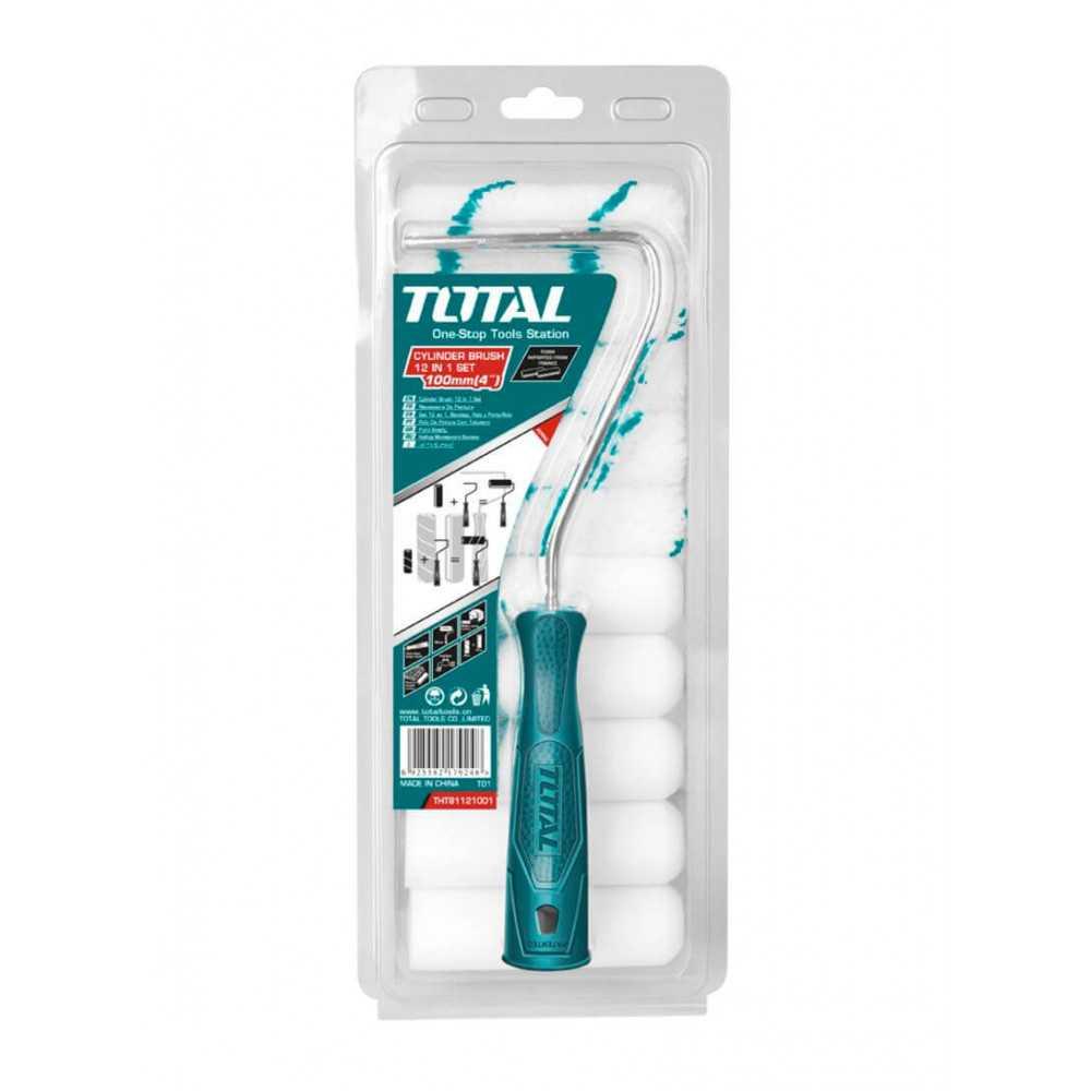 "Rodillo 12 En 1 10cm (4"") Total Tools THT81121001"