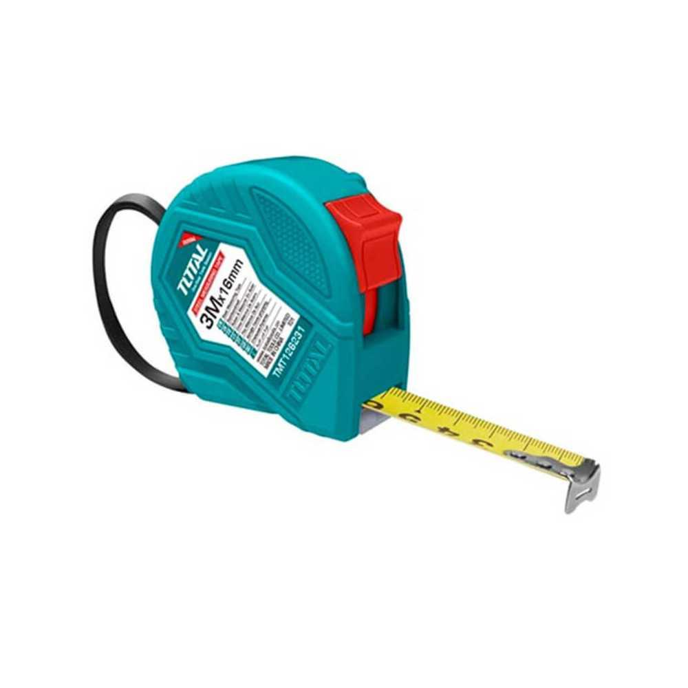 Huincha de Medir 3MT x 16MM Total Tools TMT126331