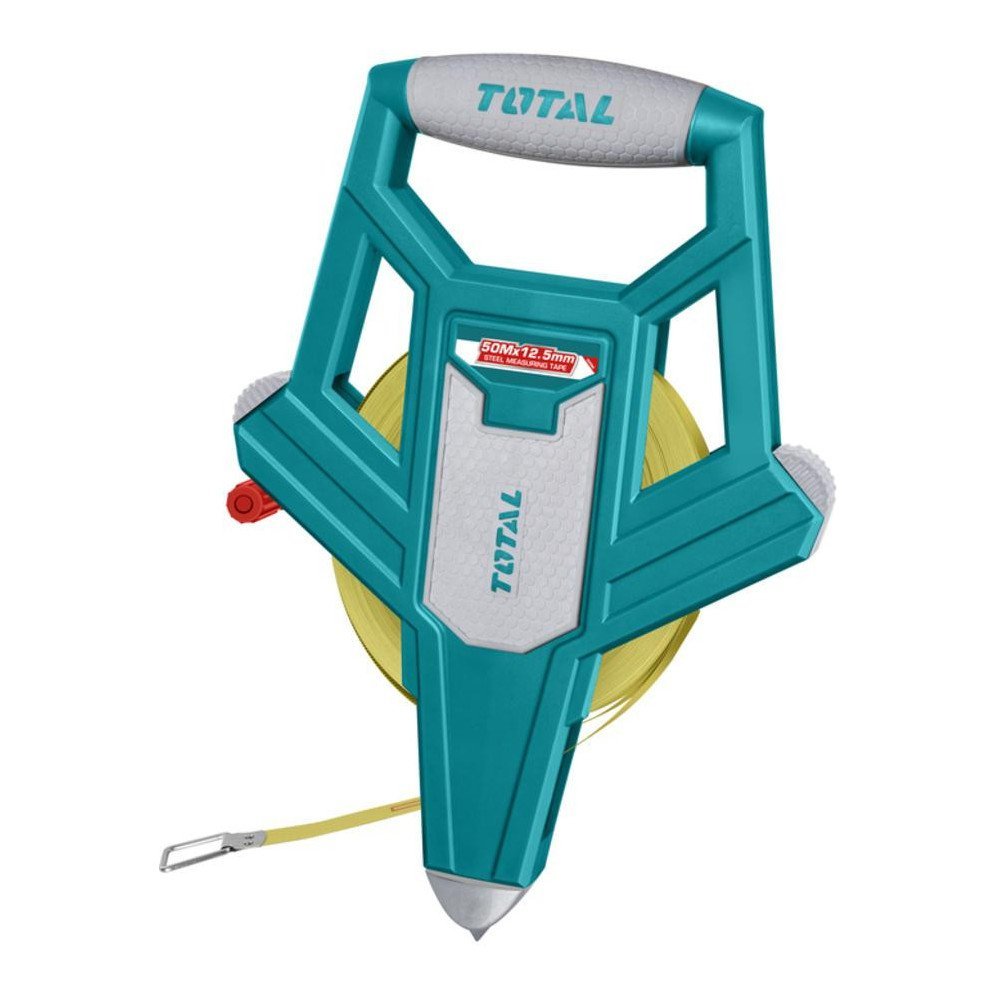 Huincha de Medir 50MT x 12.5MM Mango Ergonómico Total Tools TMT710506