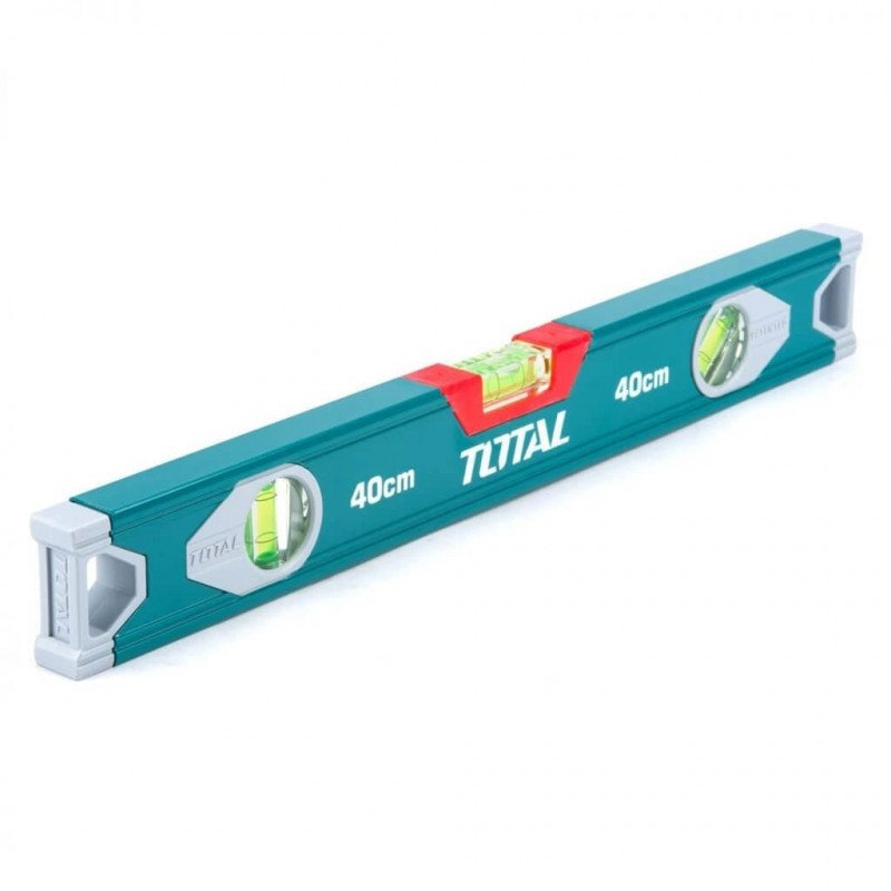 Nivel De Aluminio 3 Aguas 40 cm Total Tools TMT24016