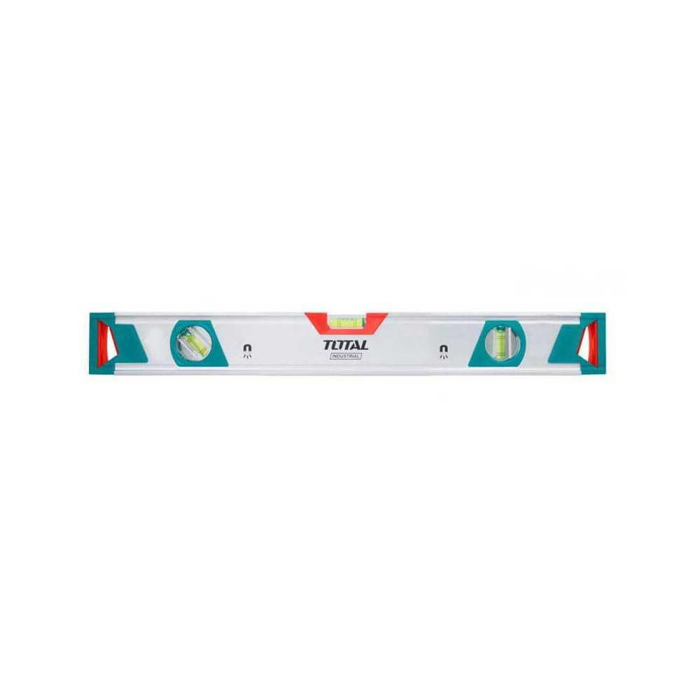 Nivel De Aluminio 3 Aguas Con Imán 40 CM Total Tools TMT20405M