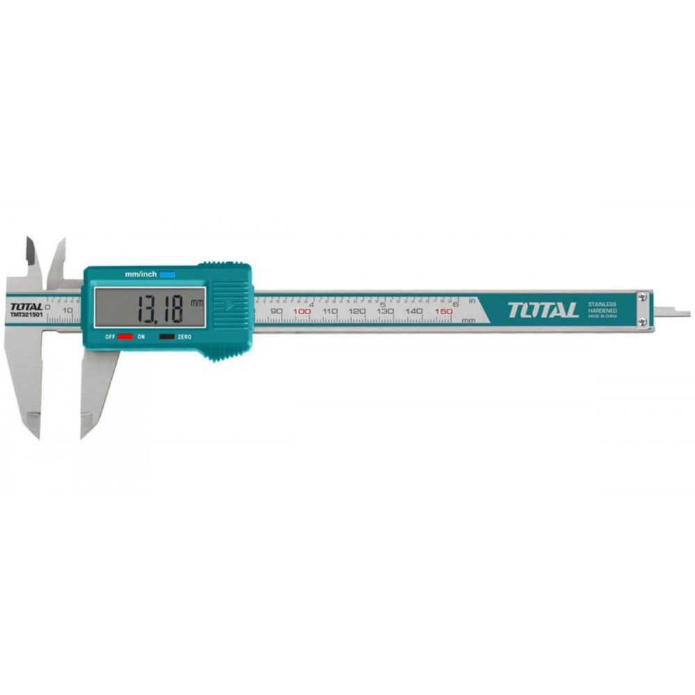Pie de Metro Digital 150 MM Total Tools TMT321501