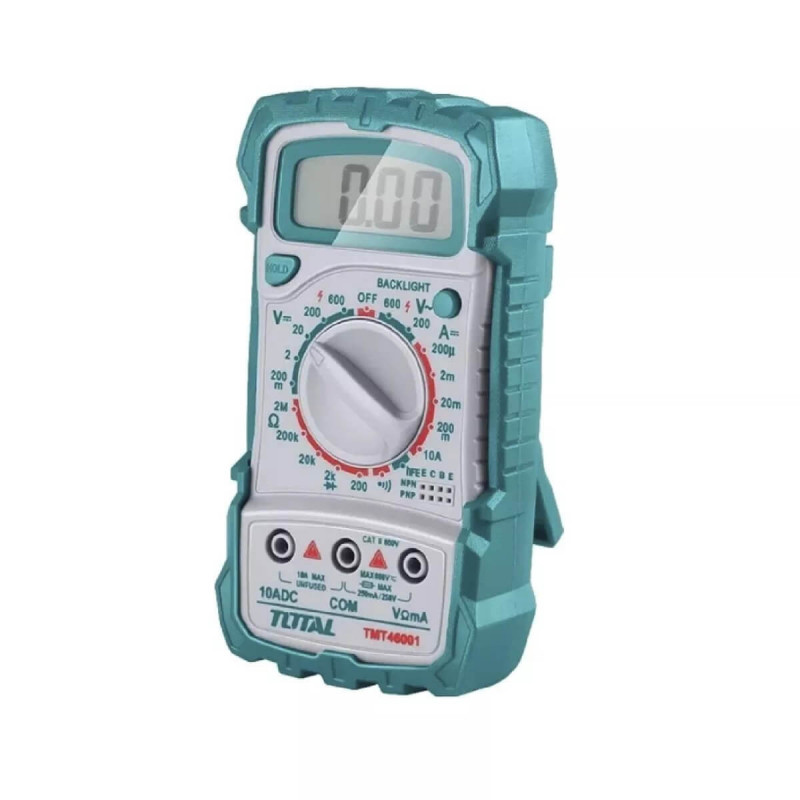 Tester-Multimetro 600 V Total Tools TMT46001