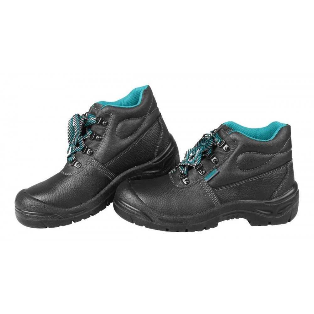 Zapatos de Seguridad Punta de Acero Talla 40 Color Negro Total Tools TSP202SB.40