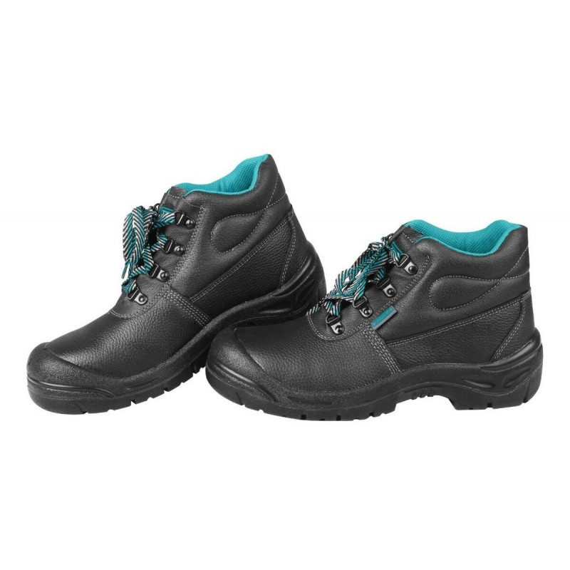 Zapatos de Seguridad Punta De Acero Talla 42 Color Negro Total Tools TSP202SB.42