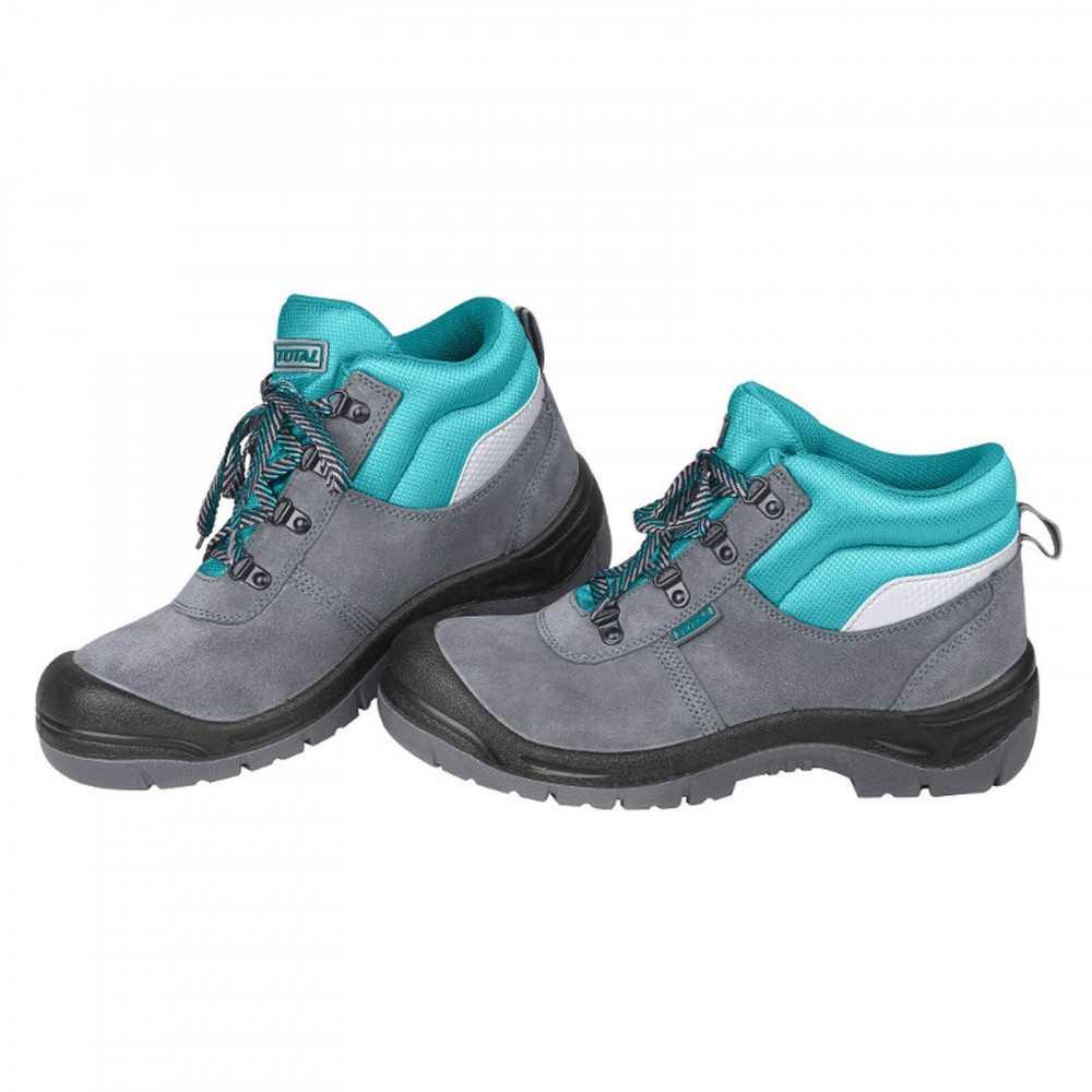 Zapatos de Seguridad Con Punta De Acero Talla 43 Total Tools TSP201SB.43