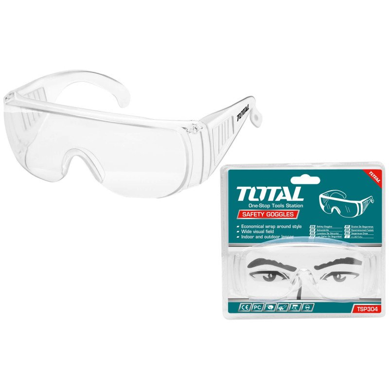 Lentes de Seguridad Transparentes Total Tools TSP304