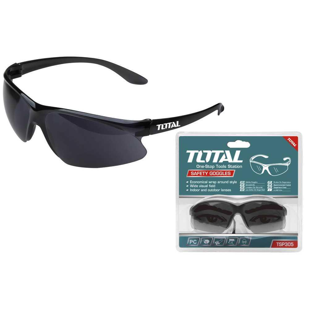 Lentes de Seguridad Oscuros (Negros) Total Tools TSP305
