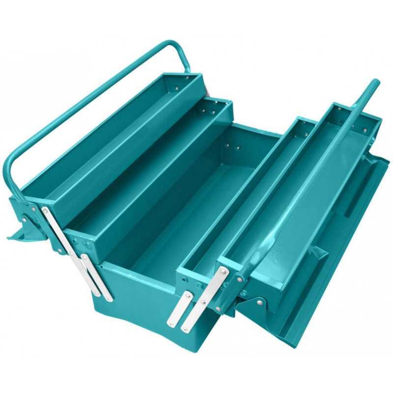 Caja de herramientas Metálica 3 Niveles Total Tools THT10701