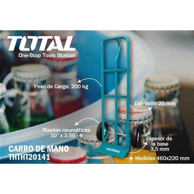 Carro de Carga Yegua 200 Kg Total Tools THTHT20141