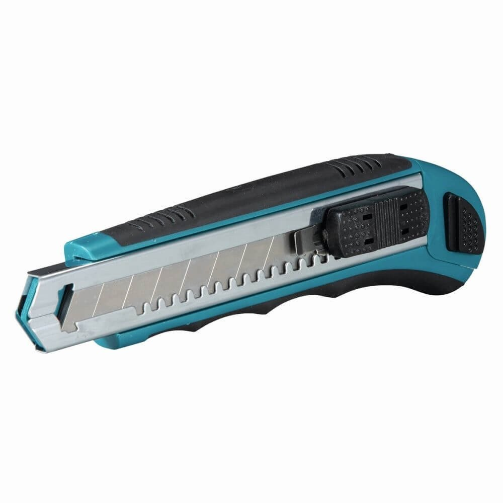 Cuchillo Cartonero Blue + 7 Hojas Makita D-65713