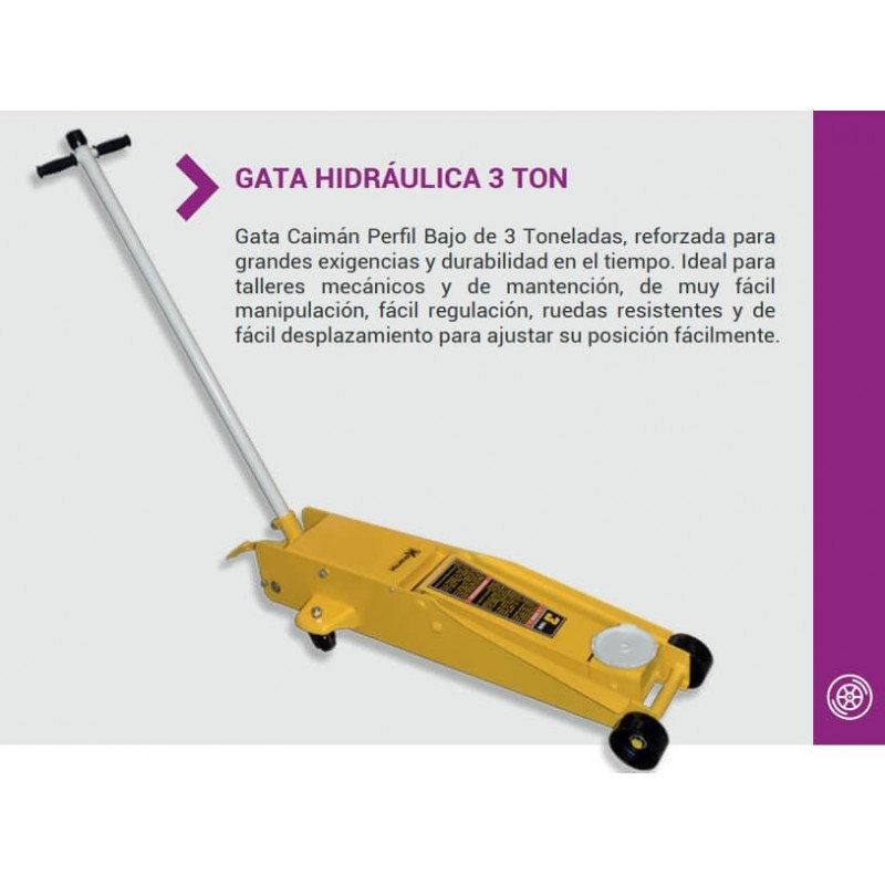 Gata Profesional Hidráulica Tipo Caimán QK-3T Krafter 7014005006000