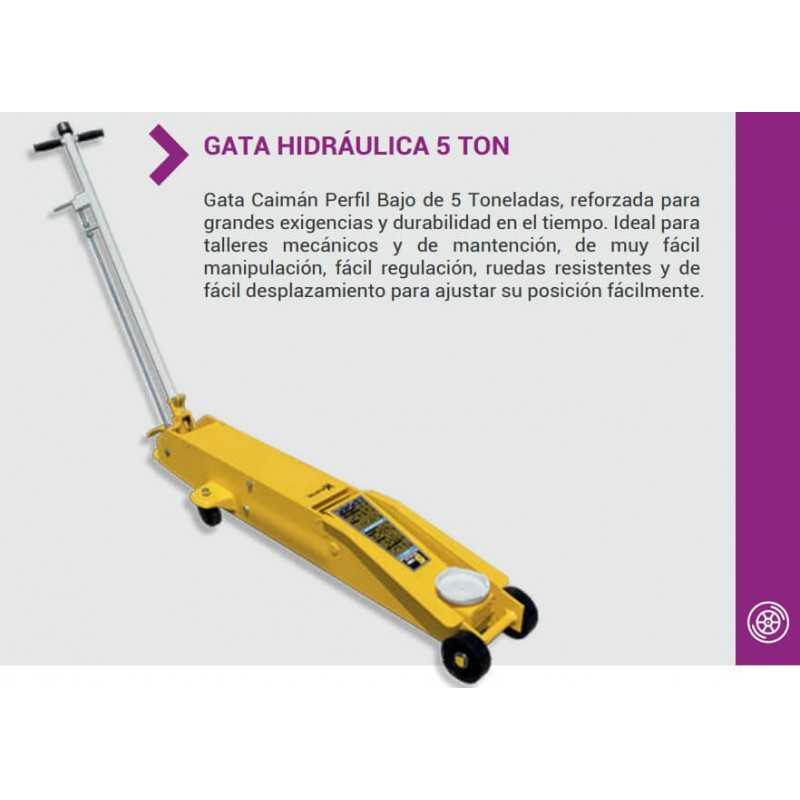 Gata Profesional Hidráulica Tipo Caimán QK-5T Krafter 7014050060005