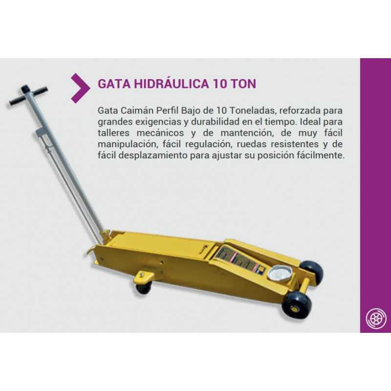 Gata Profesional Hidráulica Tipo Caimán QK-10T Krafter 7014050060010