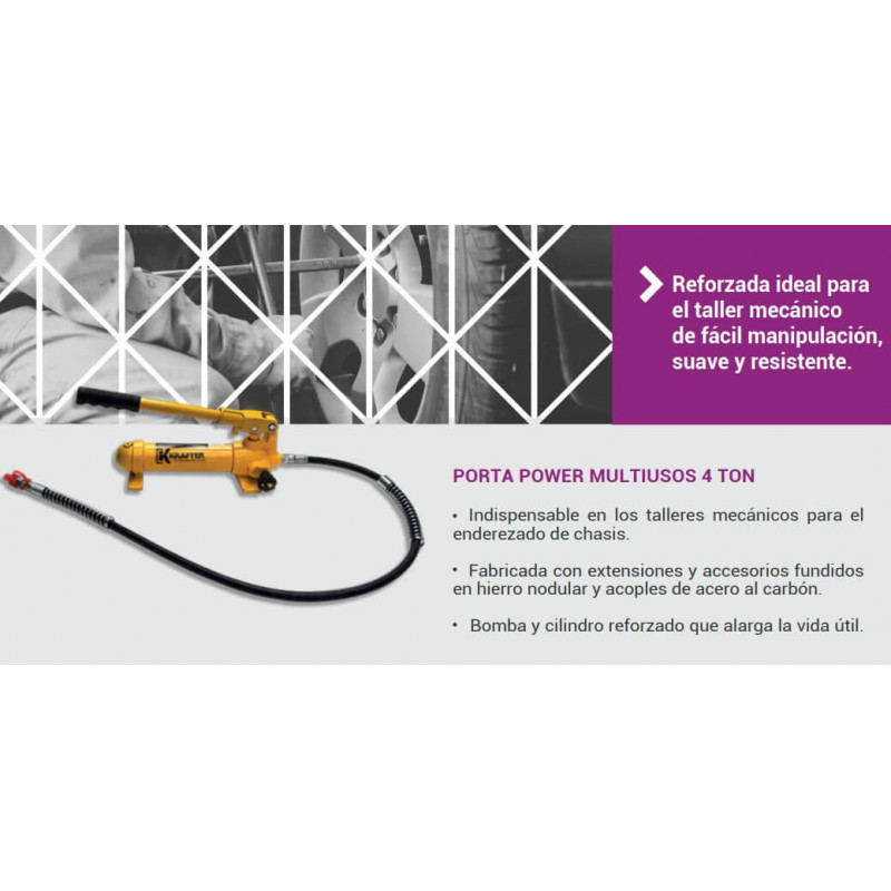 Porta Power Multiusos 4T TL0004 Krafter 7014005000004