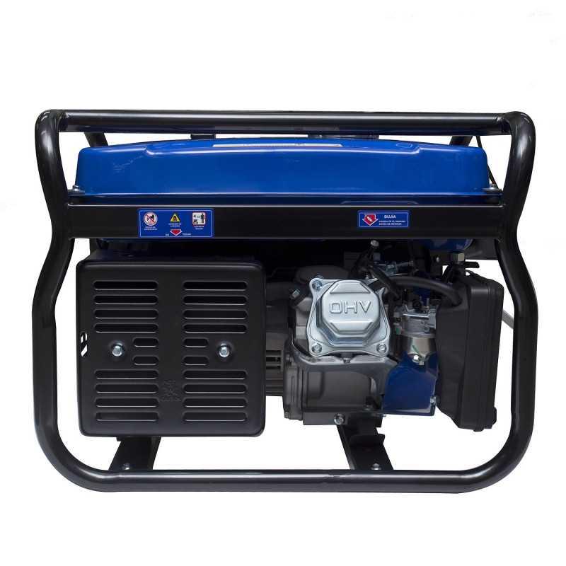 Generador Gasolina 7,5/8,3 Kw Partida eléctrica monofásico Abierto HYUNDAI 82HYG11050E