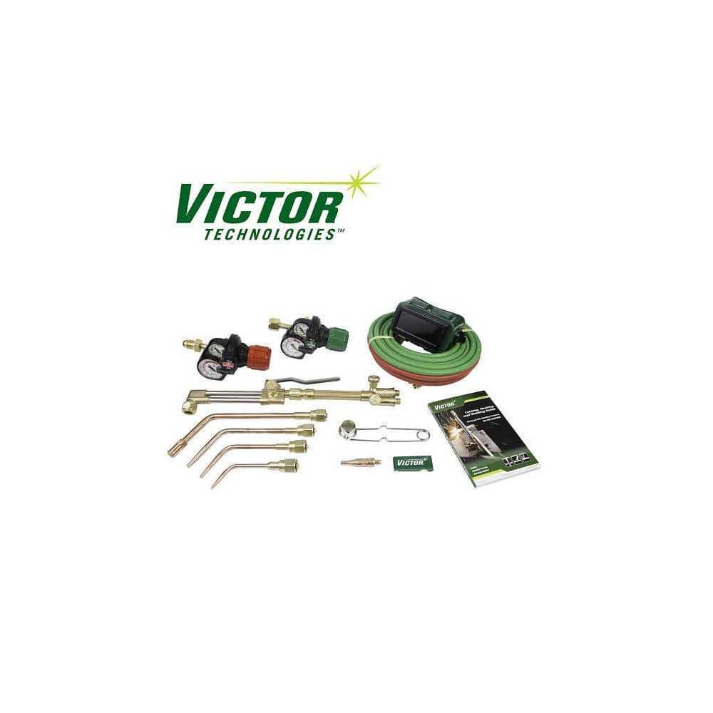Equipo de Corte, Soldar y Calentar Journeyman EDGE 0384-2036 Victor Technologies CEO-111140676