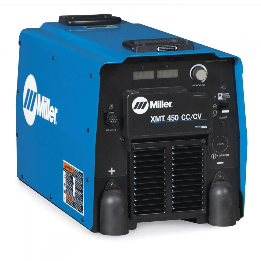 Soldadora Multiproceso Inverter 450A XMT 450 CC/CV 230/460V 907525 Miller MEP-111505012