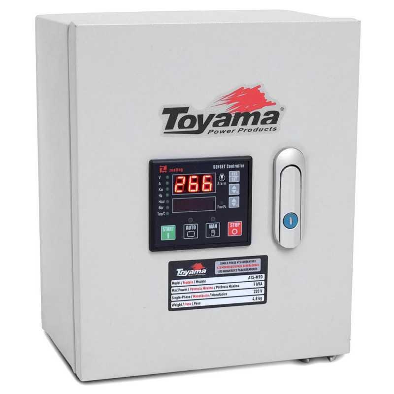 ATS - Tablero de Transferencia 9 KVA 220V para Generadores TGD7500 y TDG8500 XP Toyama ATS-M9D
