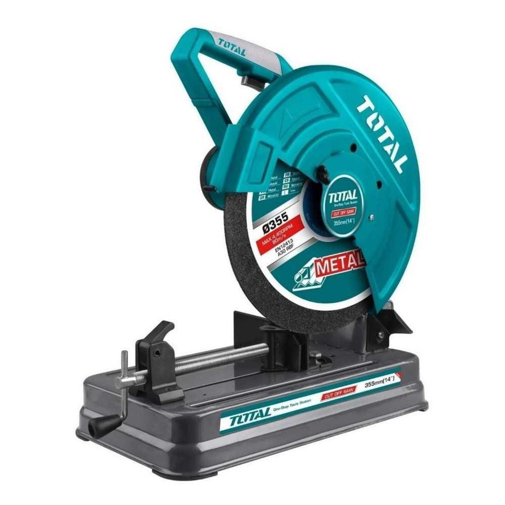"""Tronzadora 14"""" (355 mm) 2400W 3900 RPM Total Tools TS92435526"""