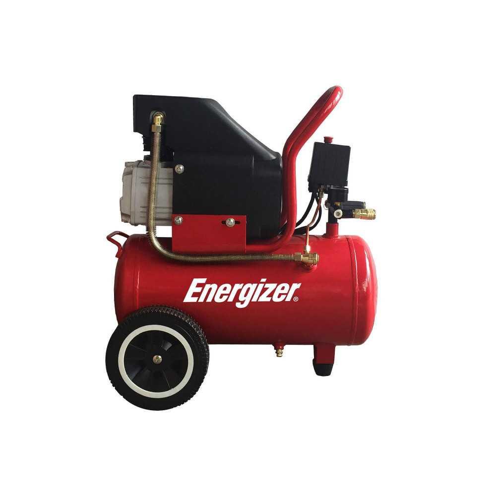 Compresor de Aire 2HP 24L 220V Monofásico Energizer EZC24D